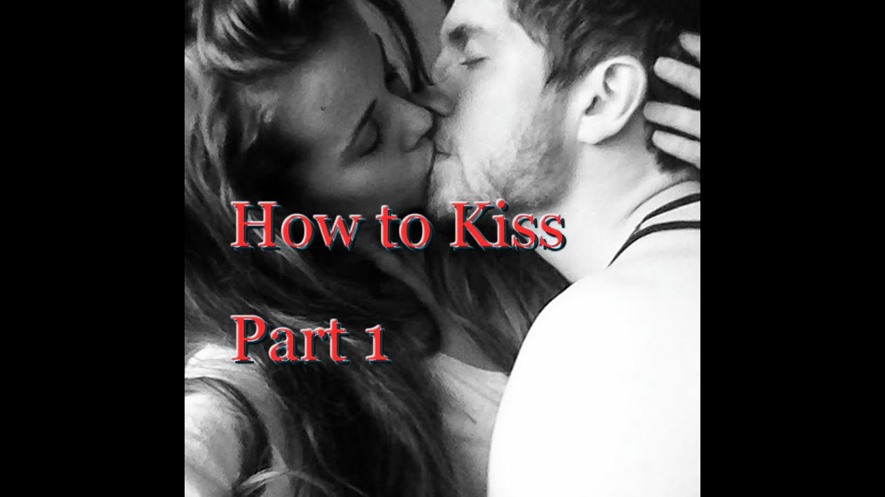 Steps of kissing for the first time