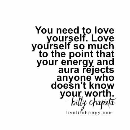 Why you need to love yourself