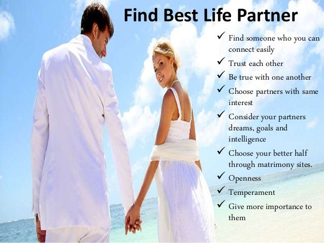 Find life partner in usa