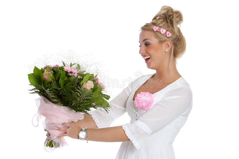 Getting a girl flowers