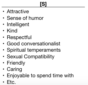 Good qualities of a person list