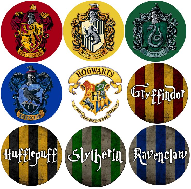 Harry potter house groups