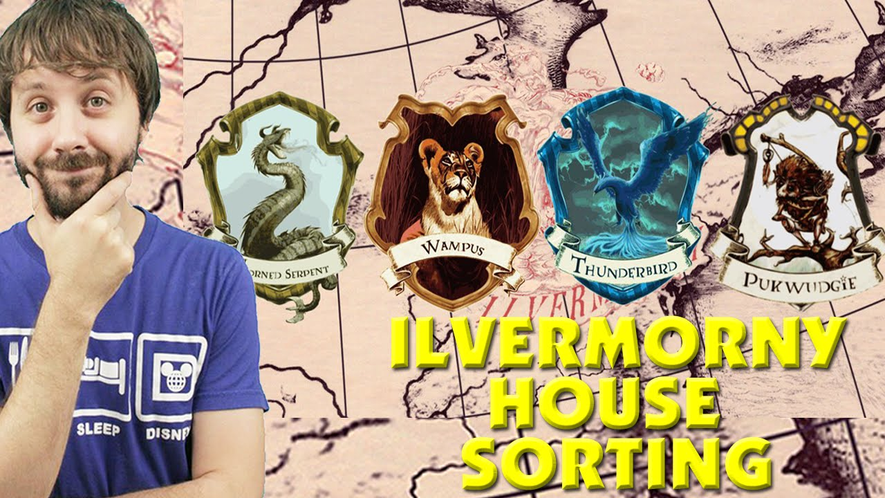 Harry potter house sorting