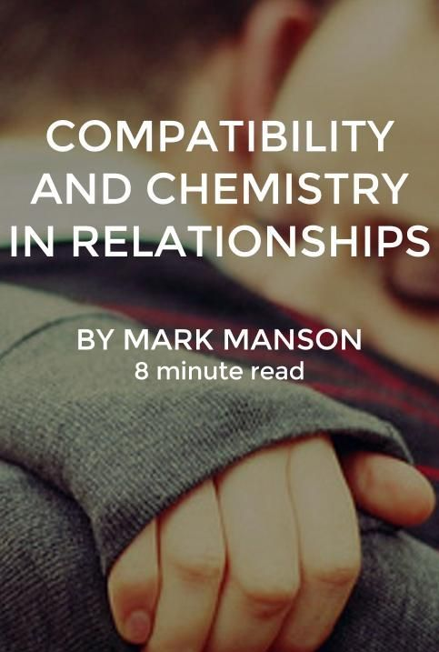 How do you know if you have chemistry with someone