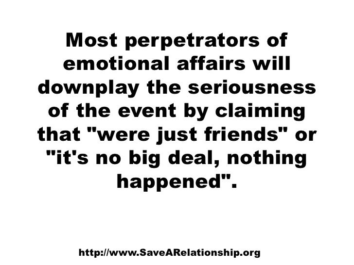 How long to get over an emotional affair