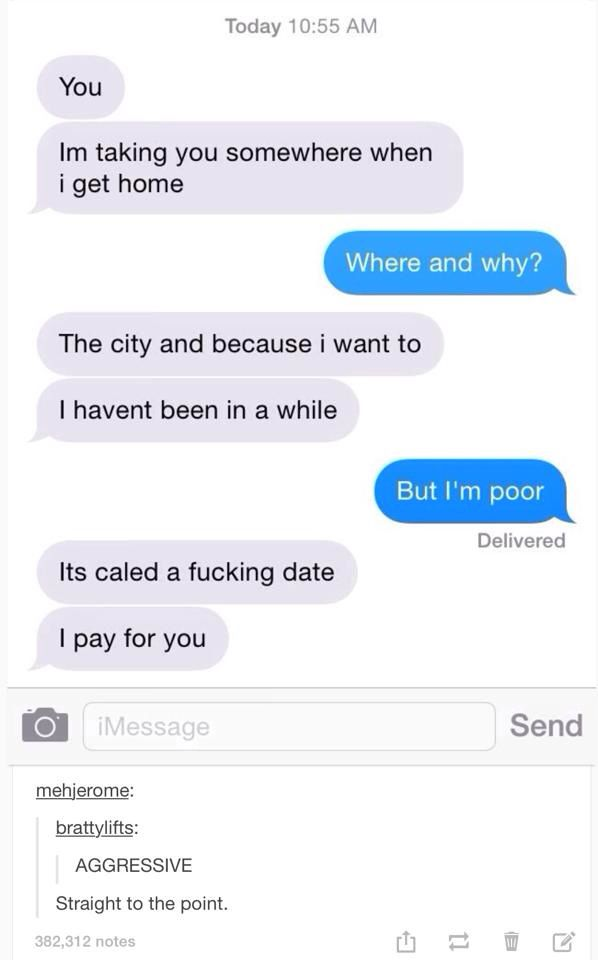 How to ask a guy to hang out over text
