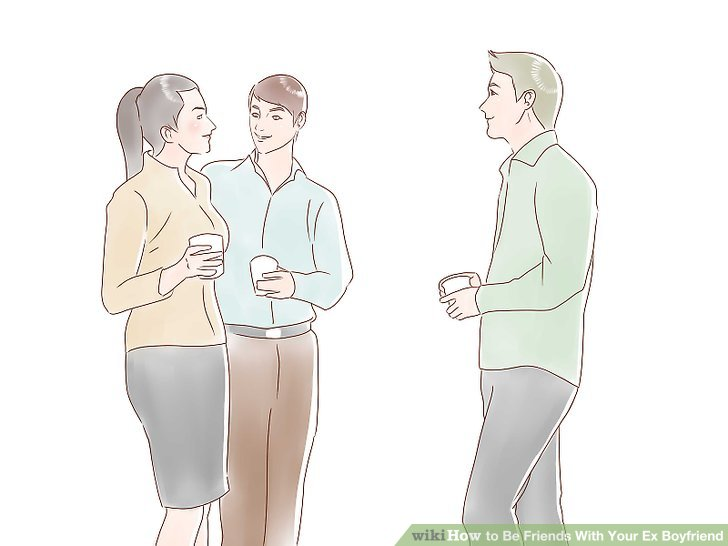 How to be friends with your ex boyfriend