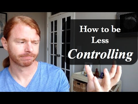 How to be less controlling