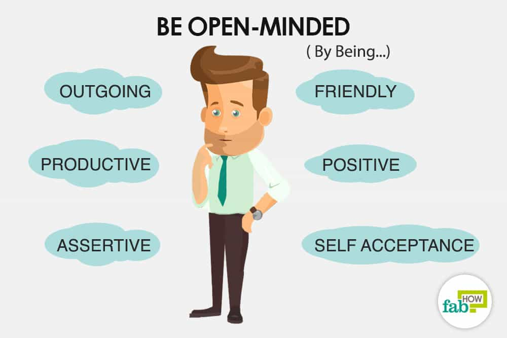 How to be open
