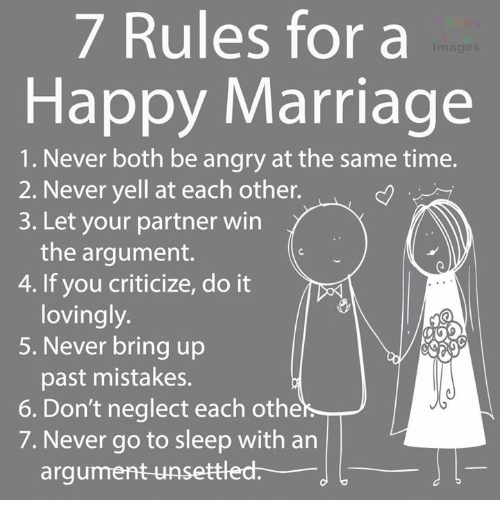 How to bring up marriage