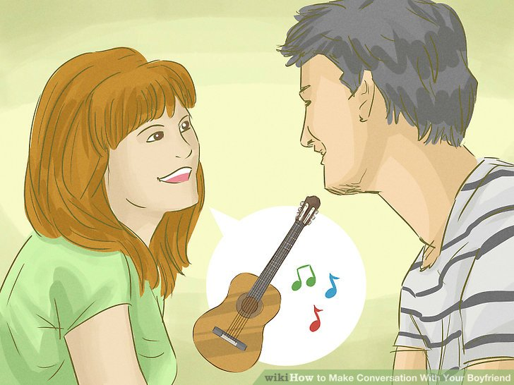 How to conversate with your boyfriend