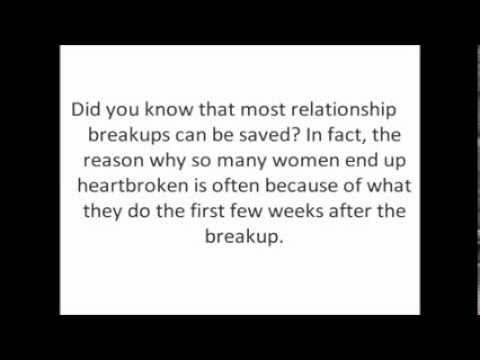 How to fix a break up