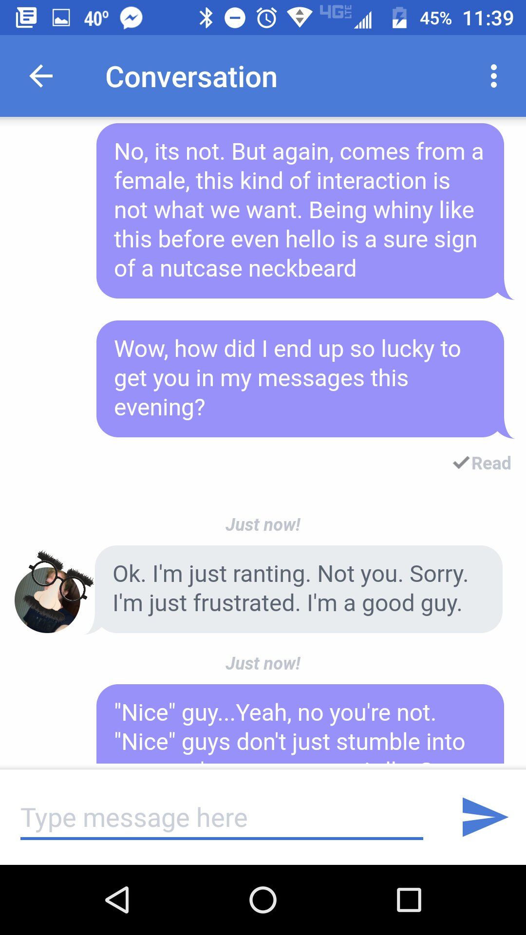 How to have a nice conversation with a guy