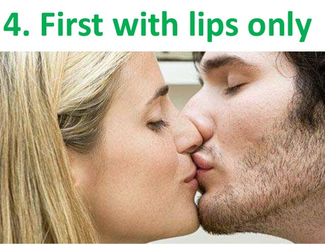 How to kiss your girlfriend for the first time
