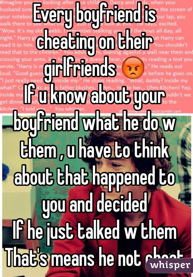 How to know if my boyfriend is cheating
