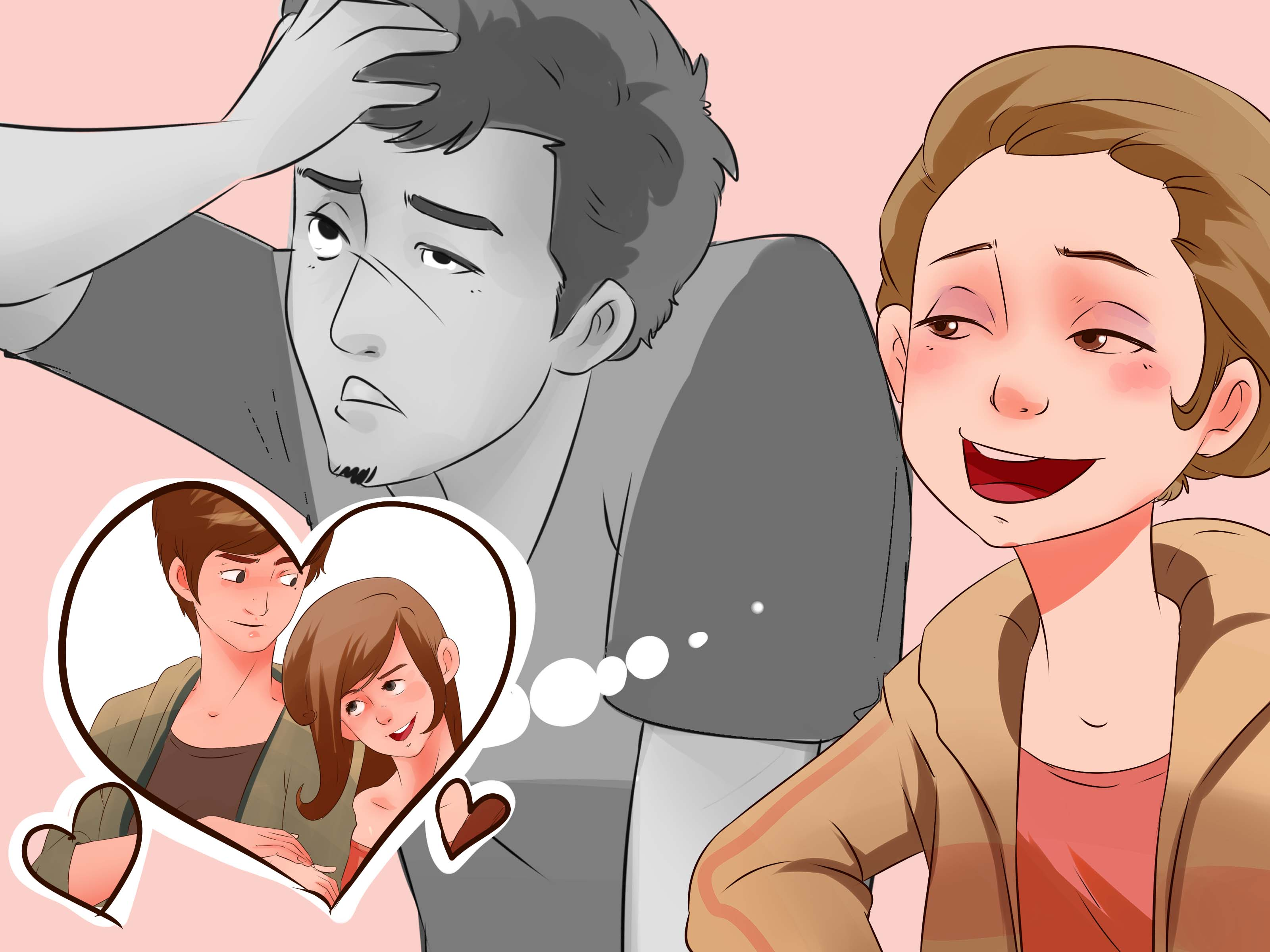 How to make a guy stop being mad at you