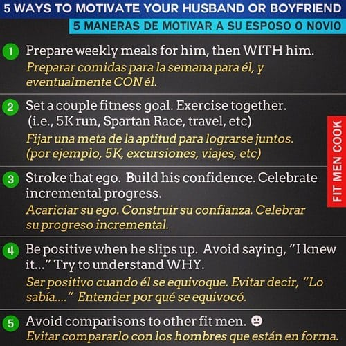 How to motivate your boyfriend