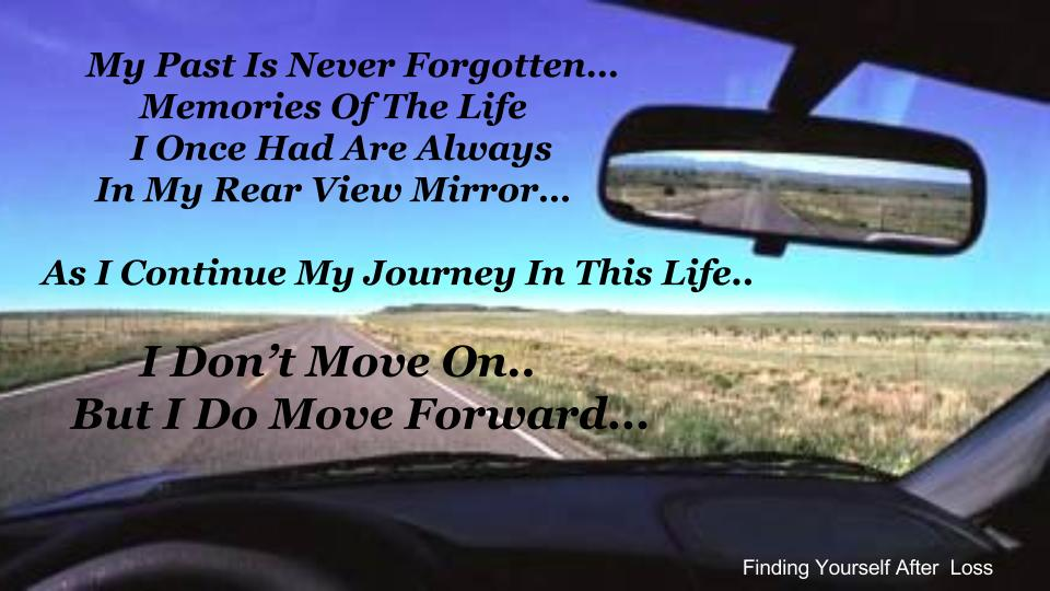 How to move forward after becoming a widow