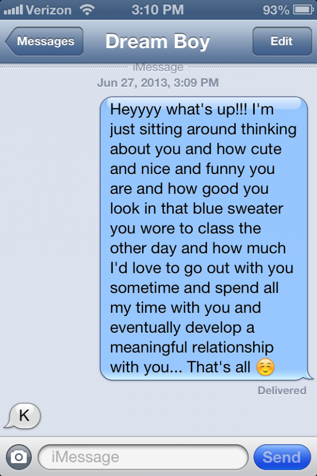 How to respond to texts from a guy