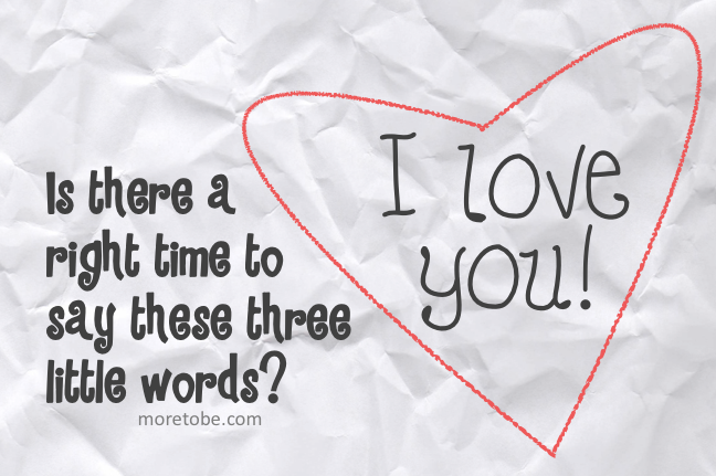 How to say i love you to a boy