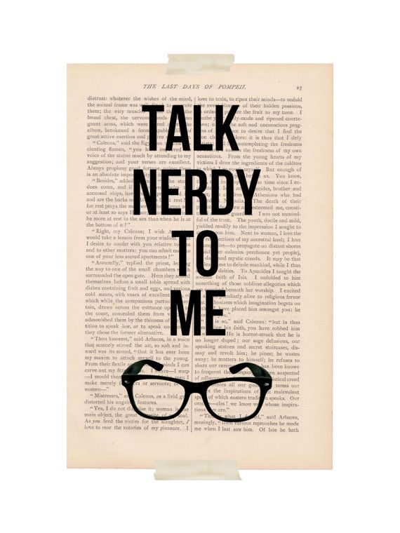 How to talk to a nerdy guy
