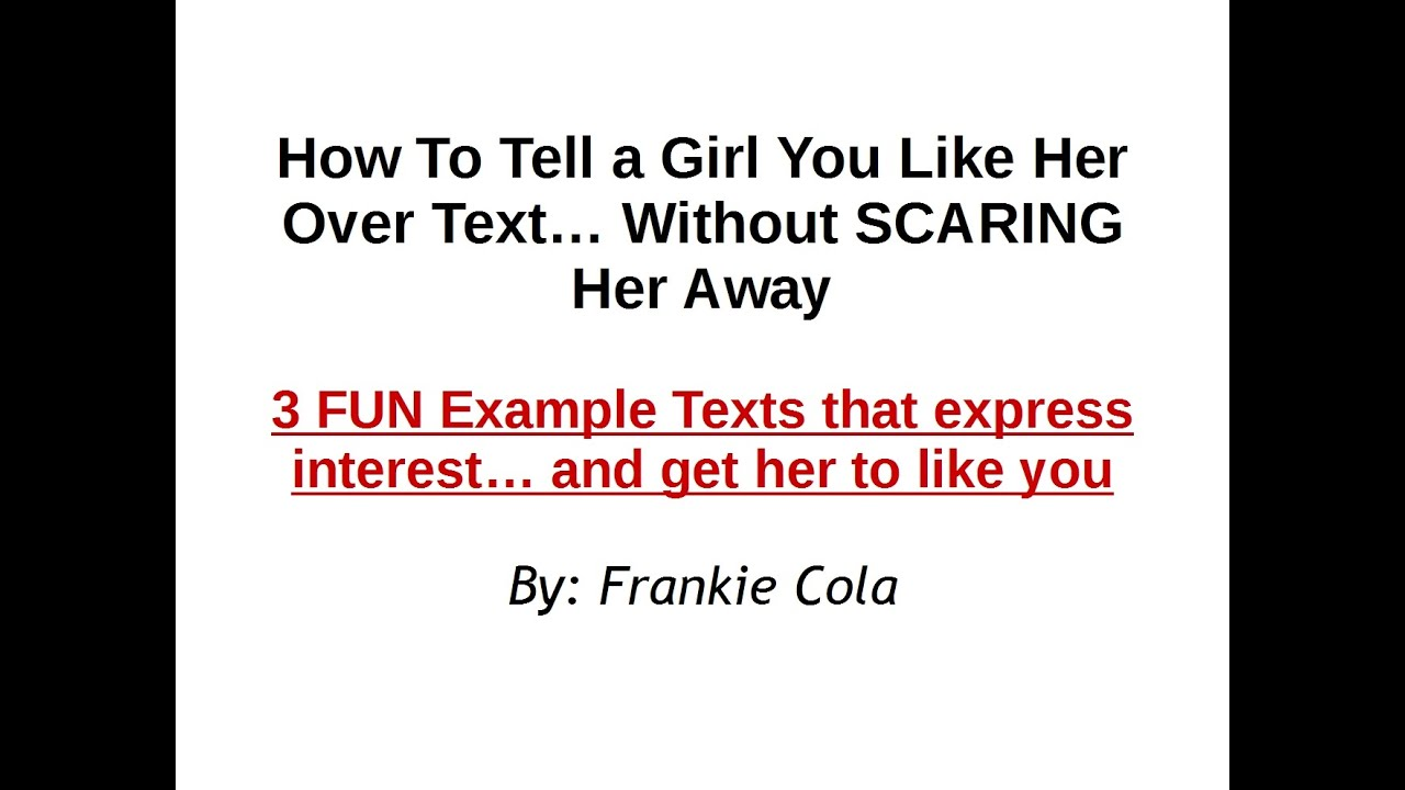 How to tell a girl you have feelings for her