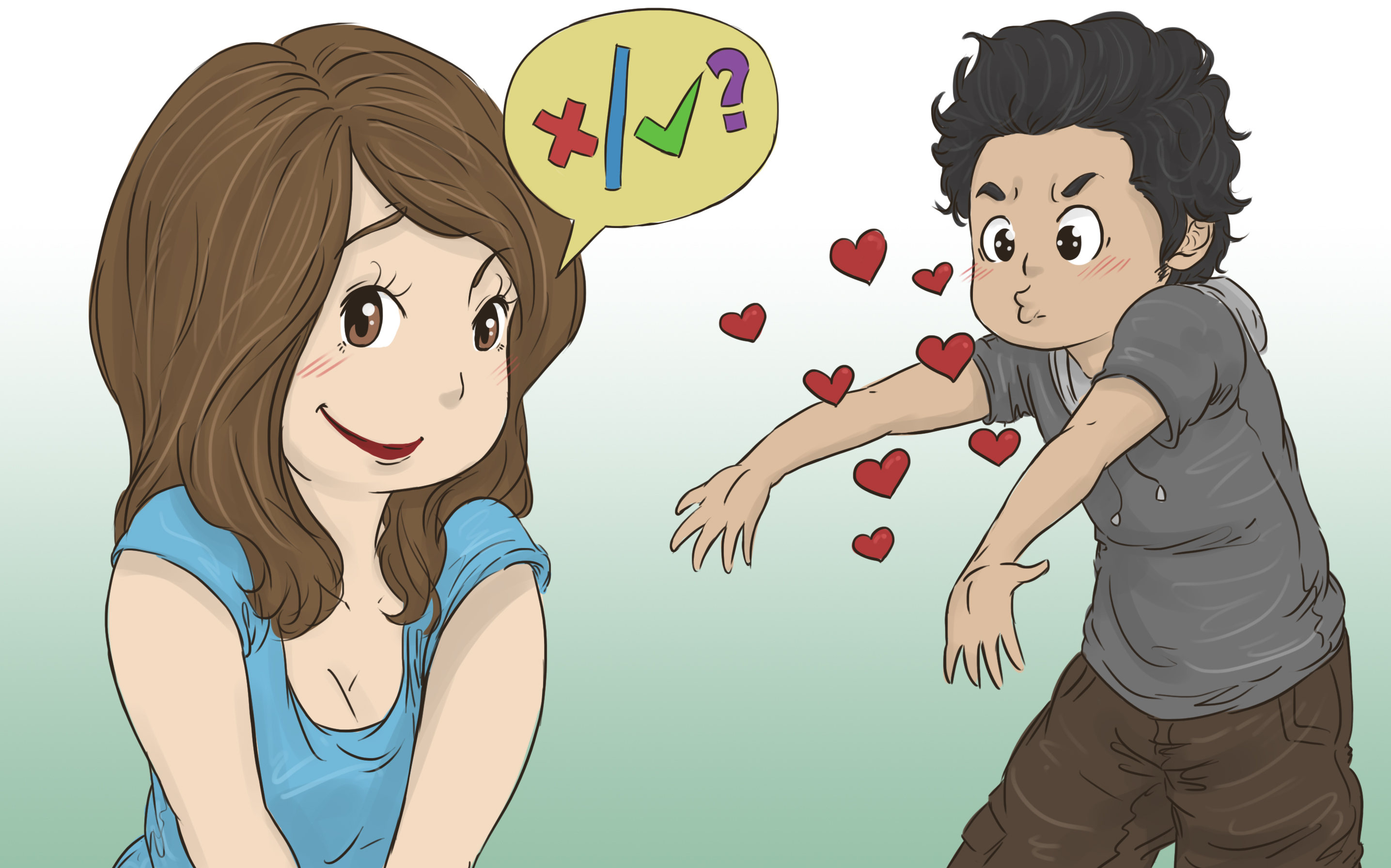 How to tell if a boy likes