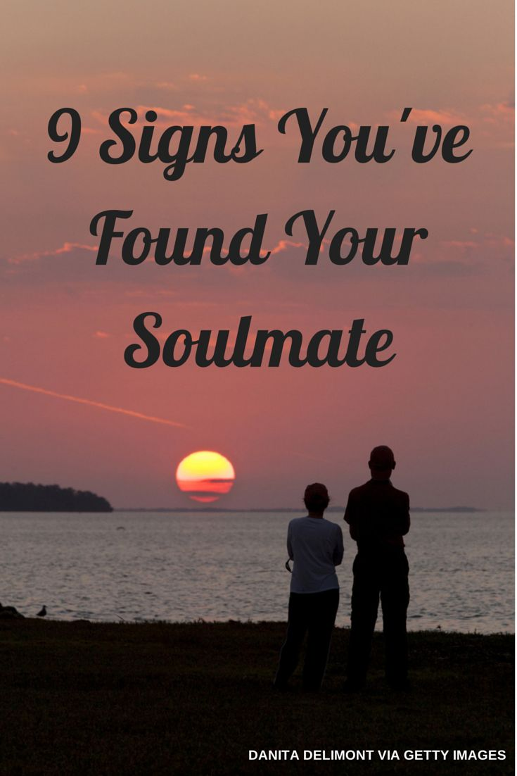 How to tell if you found your soulmate