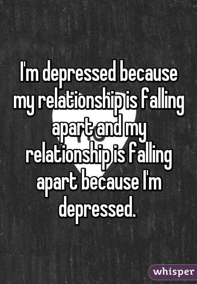 I am depressed in my marriage