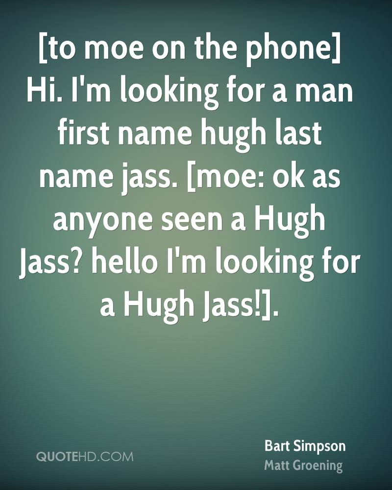 Im looking for man