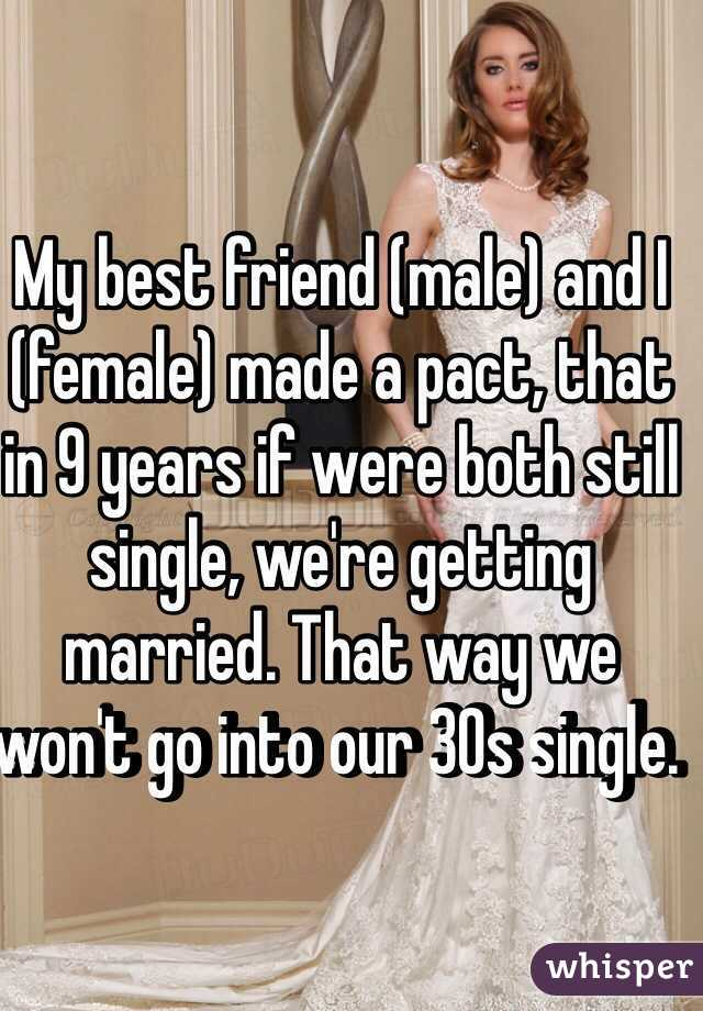In 30s and still single