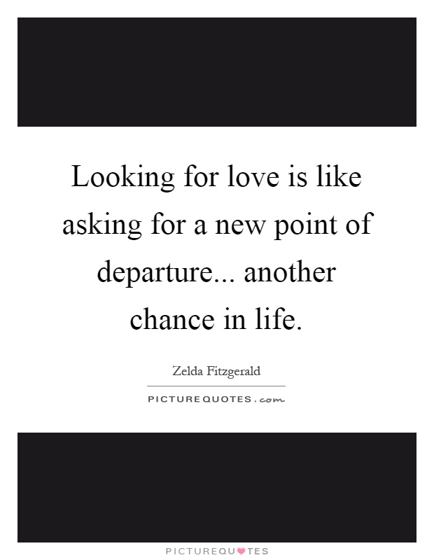Looking for a new love