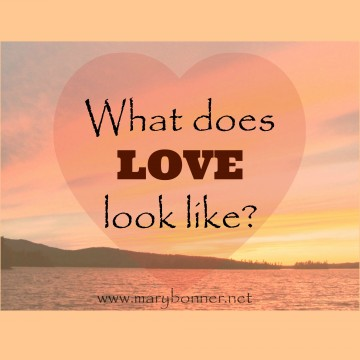 Love is what love does