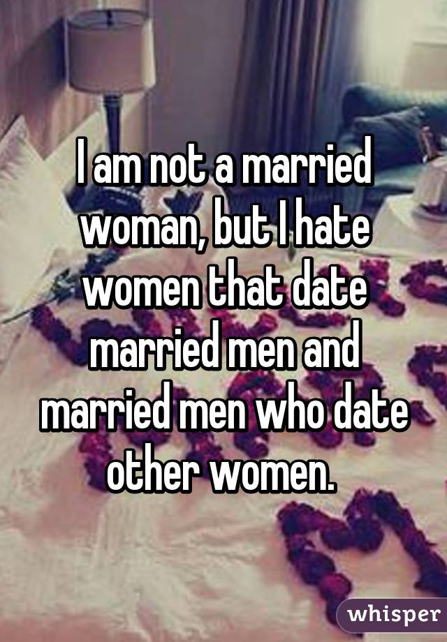 Married but dating others