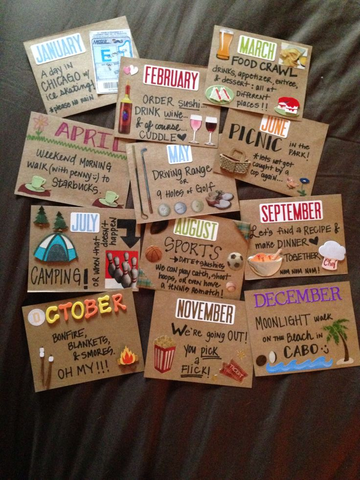 One month date ideas