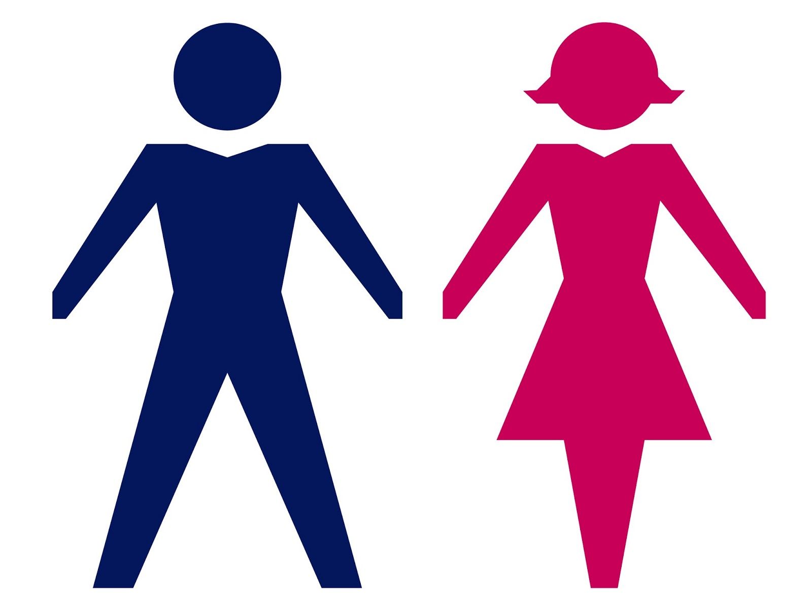 Pictures of men and women