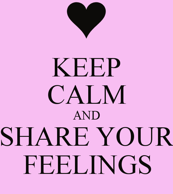 Share your feelings online