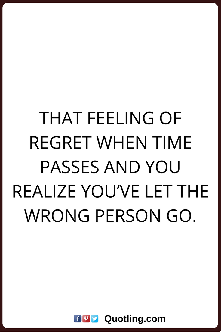Signs he regrets letting you go