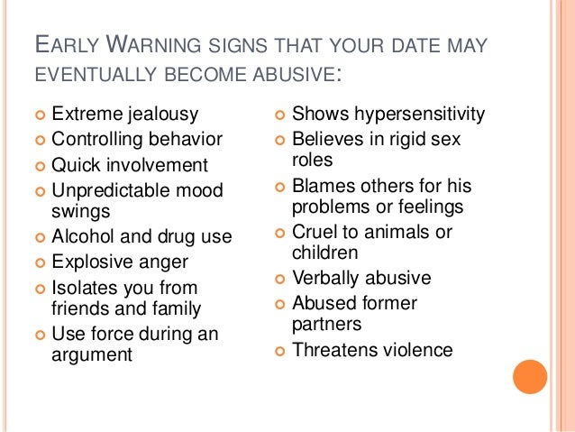 Signs of a controlling girlfriend