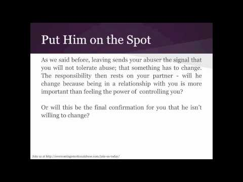 Signs of an emotional abuser husband