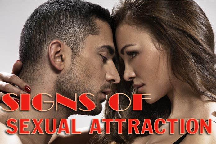 Signs of attraction from men