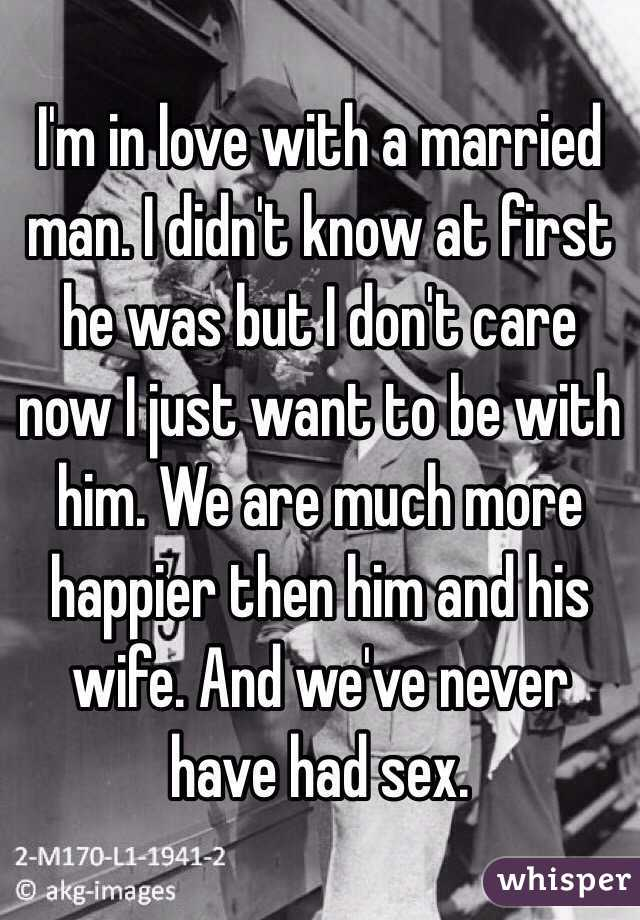 Signs that a married man loves you
