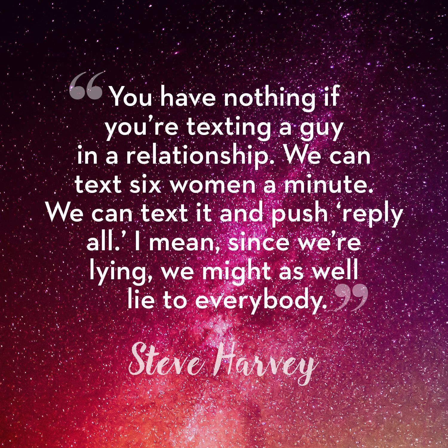 Harvey dating rules steve What Is