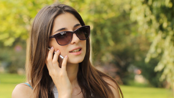 Talk on phone with girl