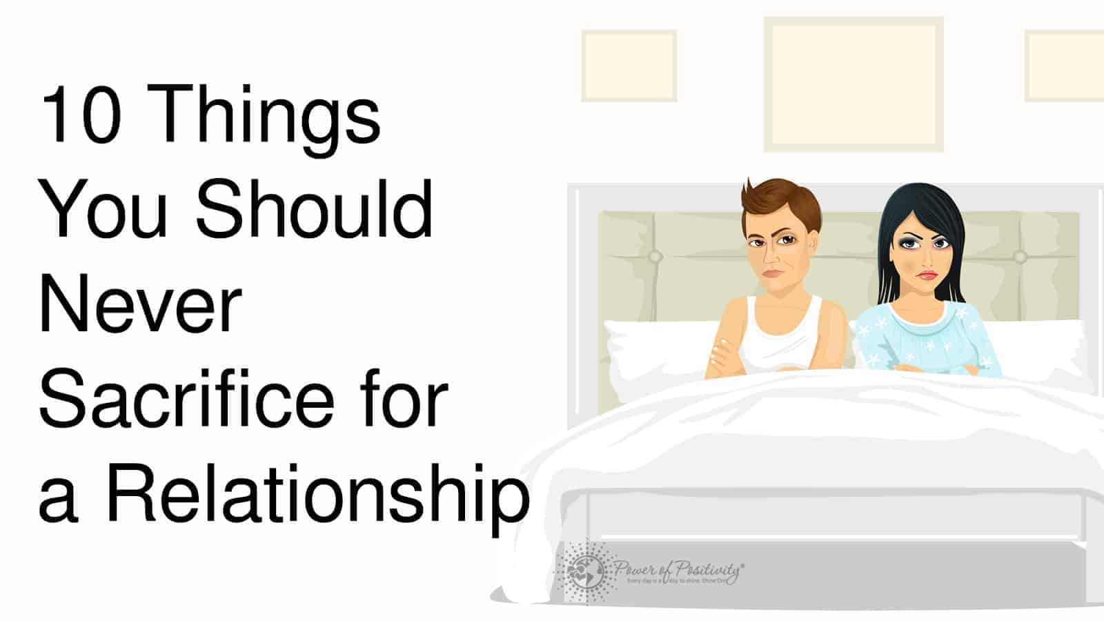 Things a woman should never do in a relationship