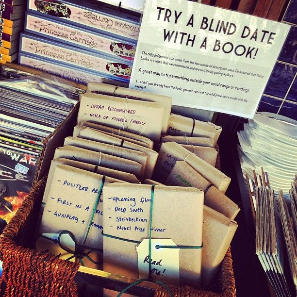 Things to do on a blind date
