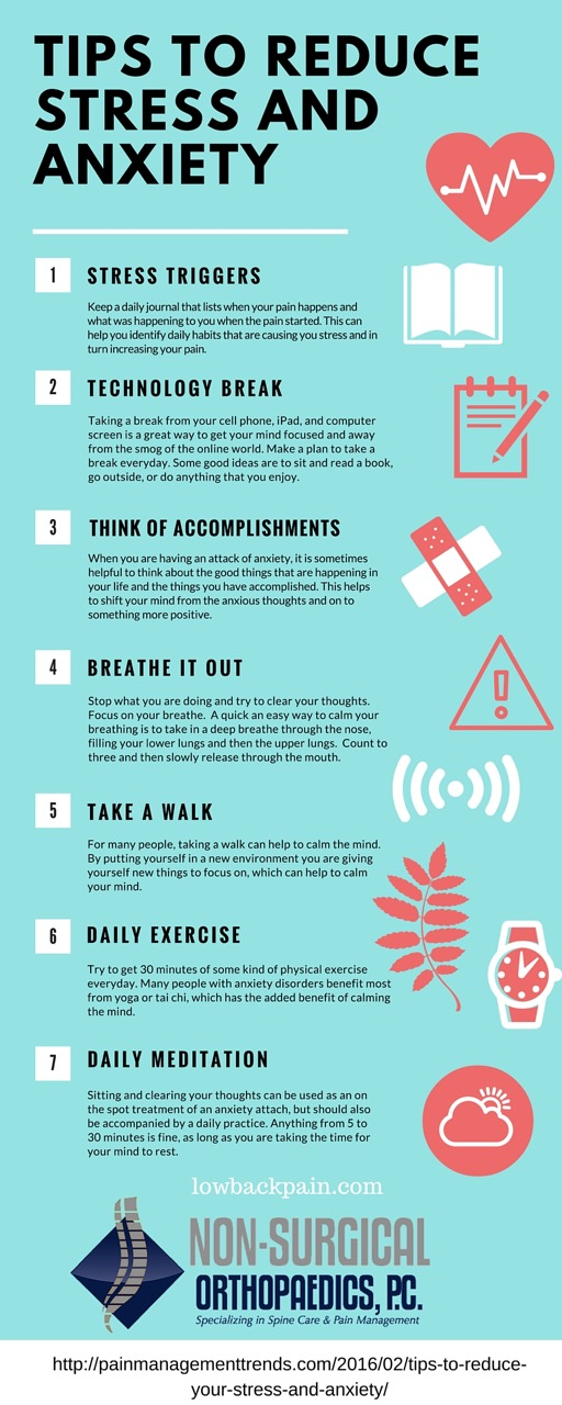 Tips to lower anxiety