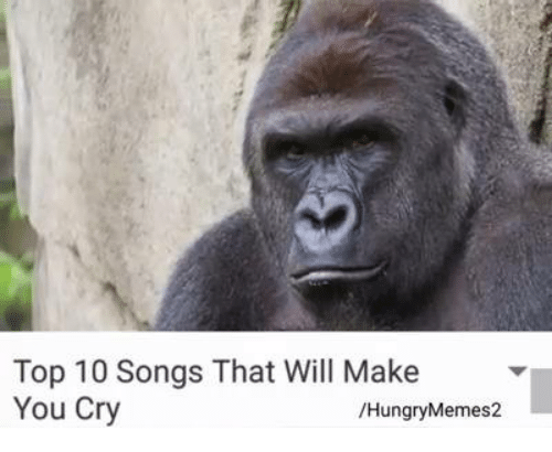 Top 10 songs that will make you cry