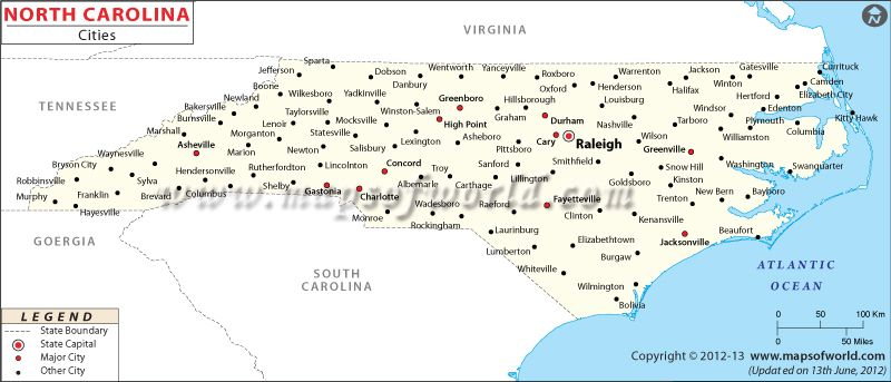 Top cities in south carolina