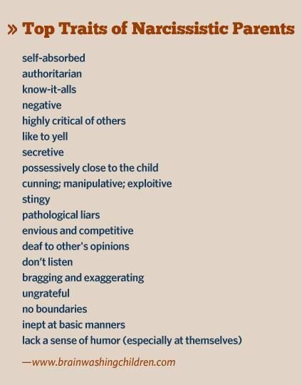 Traits of a verbal abuser